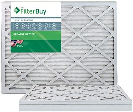 FilterBuy 14x30x1 Pleated Furnace Filters
