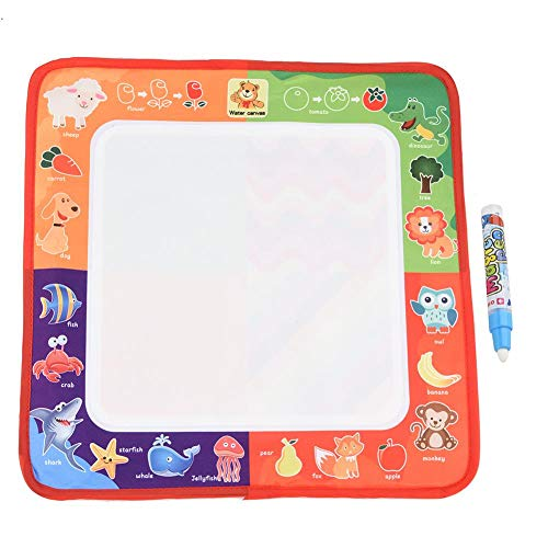 Garosa (Pack of 2) Magic Painting Board Aqua Water Drawing Mat Doodle Scribble Boards Educational Writing Develop Intelligence Sketch Learning Toy Gift for Kids -