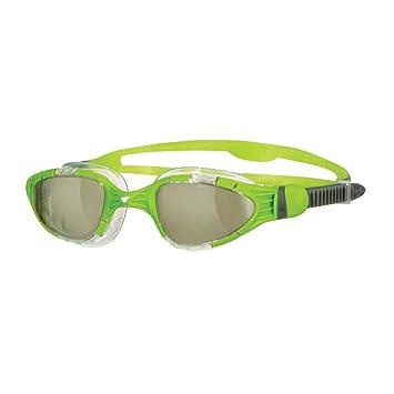 Zoggs Aqua Flex Titanium Gafas de natación, Hombre, Amarillo, Única
