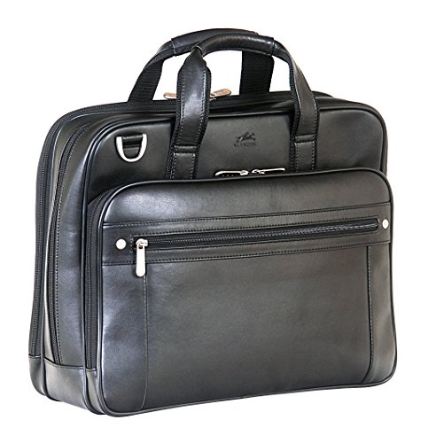 mancini-63201-bk-double-compartment-156-inch-briefcase-for-laptop-and-tablet-black-under-seat