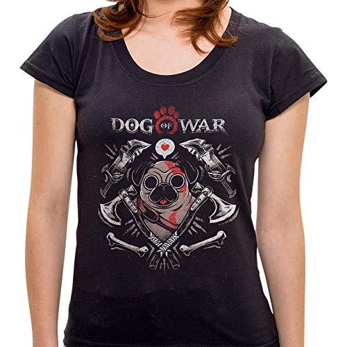 Camiseta Dog Of War - Feminina - G