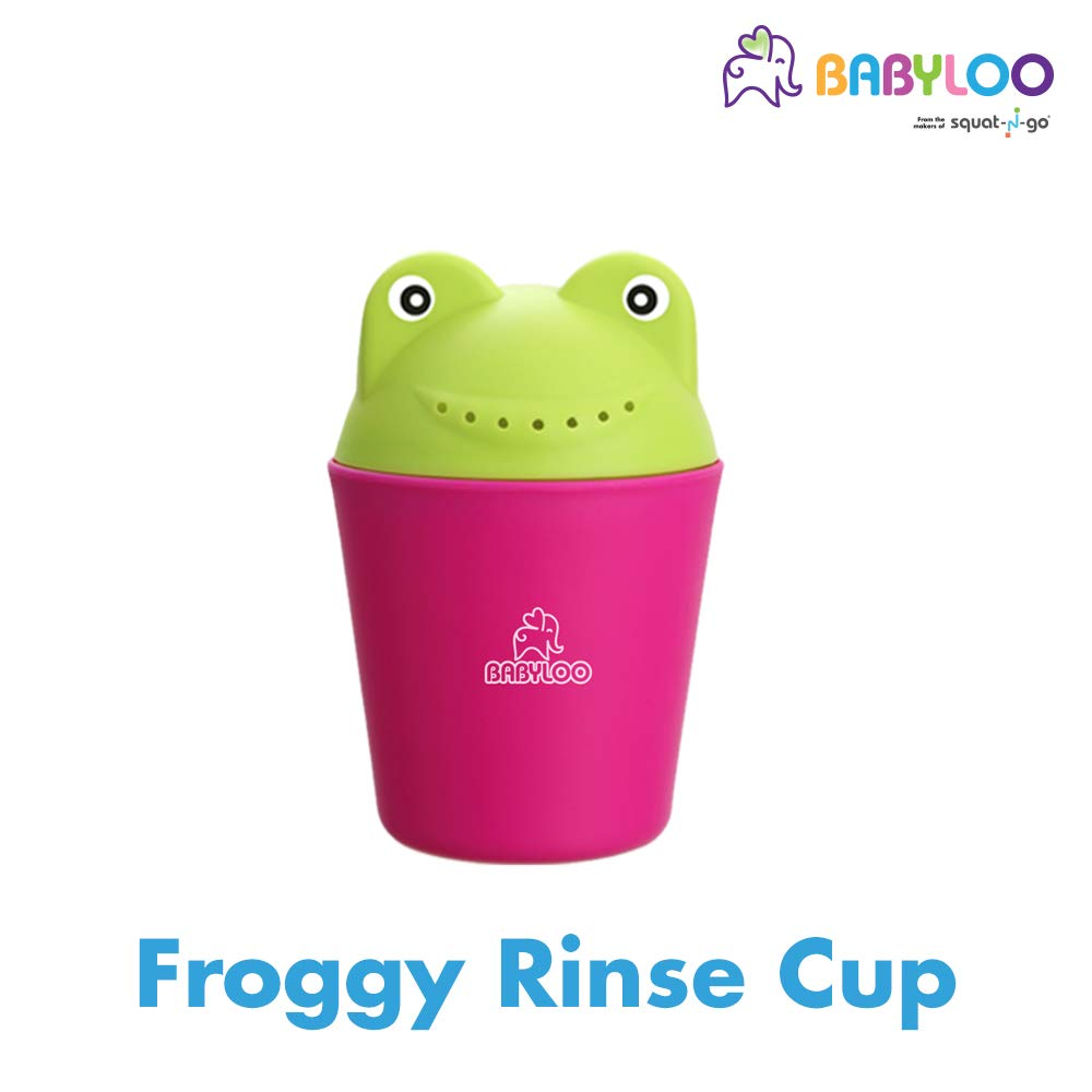 Babyloo Frog Shampoo Rinser (Pink/Green)