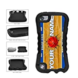 BleuReign(TM) Personalized Dub Nation Custom Name Basketball Team Golden State License Plate 2-Piece Dual Layer Phone Case Back Cover For Apple iPod Touch 5th Generation
