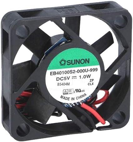Sunon Lüfter 40x40x10mm Ee40100s2 999 Dc 5v 6100 U Computer Zubehör