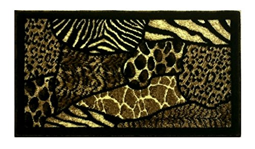Animal Print Door Mat 2 Ft. X 3 Ft. 4 In. Design #70