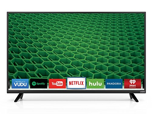 VIZIO D48-D0 D-Series 48″ Class Full Array LED Smart TV (Black)