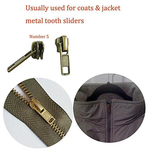 30pcs Zipper Repair Kit Zipper Replacement Pack Zipper Fix Instant by BesTim Digital(30Pack)