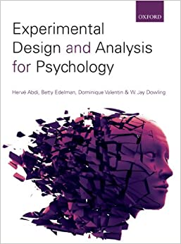 Experimental Design & Analysis for Psychology