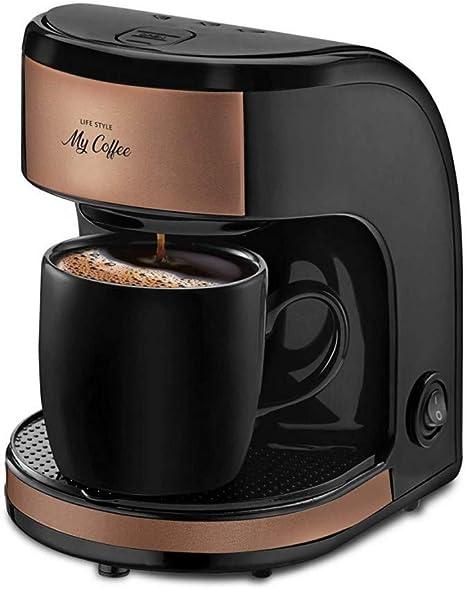 CTDMMJ Mini cafetera automática Mini cafetera de Goteo máquina de café para té café con Filtro: Amazon.es: Deportes y aire libre