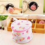 JD Million shop Women Hosiery Bra Lingerie Rose Washing Bag Protecting Mesh Aid Laundry Saver Laundry Bags & Baskets