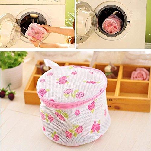 Money coming shop Women Hosiery Bra Lingerie Rose Washing Bag Protecting Mesh Aid Laundry Saver Laundry Bags & Baskets