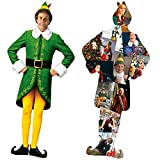 Aquarius Elf Buddy & Collage 2 Sided 600 Pc Diecut Jigsaw Puzzle