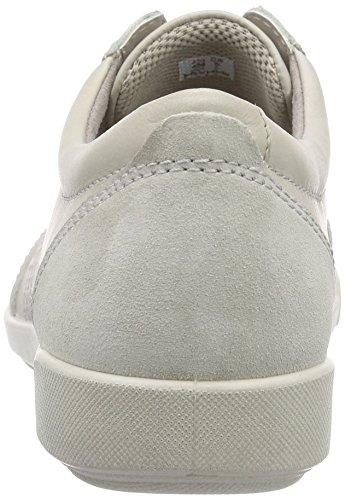Femme Basket Ii Crisp gravel58261 Blanc gravel Weiß Ecco T1qtag
