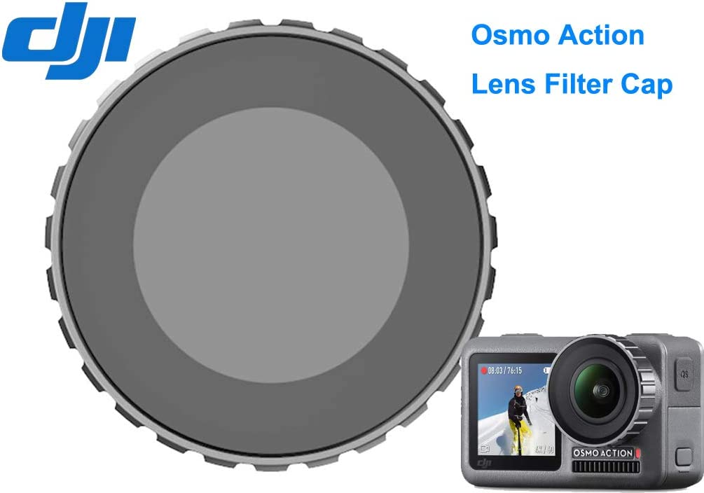 DJI Genuine Osmo Action Camera Lens Filter Cap PGYTECH OSMO Action Camera Battery Adhesive Frame Mount Hand Grip /& Tripod Compatible with DJI OSMO Action Camera Accessories