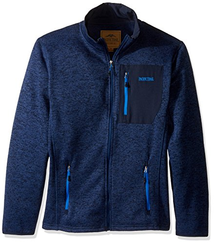 Pacific Trail Men's Sweater Fleece Jacket, Dark Navy for sale  Delivered anywhere in USA