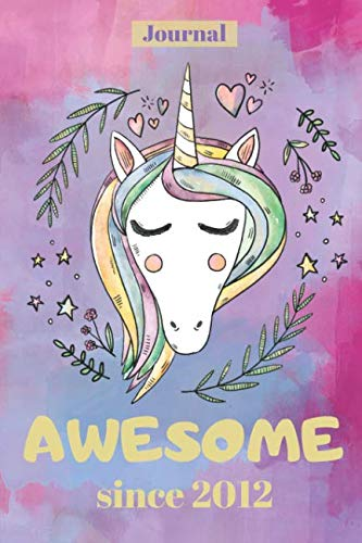 Unicorn Journal for 7 year Old Girl: 120 Lined Pages - 6