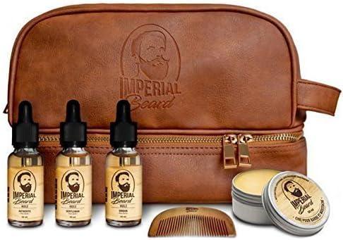 Imperial Beard - Estuche con tratamientos para la barba Aceites y cera.: Amazon.es: Salud y cuidado personal