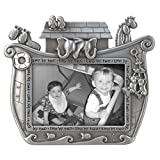 Malden International Designs Noah's Ark Baby Metal Picture Frame, 3x5, Silver