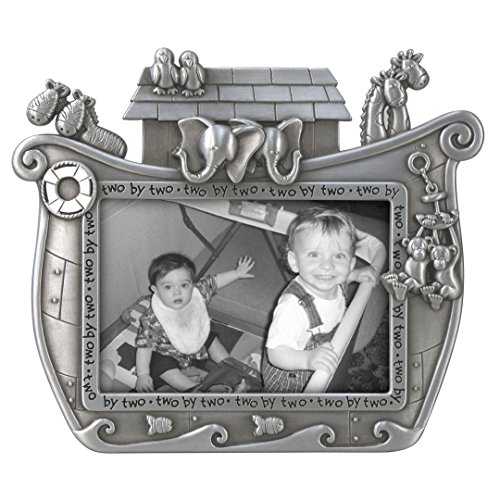 Malden International Designs Noah's Ark Baby Metal Picture Frame, 3x5, ()