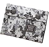 Mens Boys Casual Camouflage Trifold Short Wallet Purse Clip Card Case Coin Holder