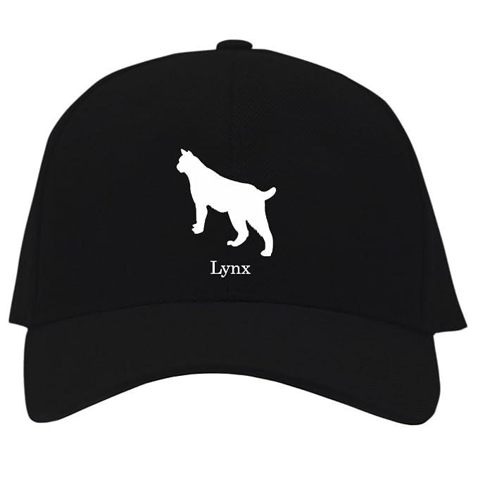 amazon com eddany lynx silhouette baseball cap clothing