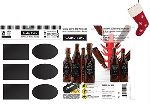 Reusable Personalized Beer Bottle Labels for Home Brewing - Hand Printable Labels Waterproof Vinyl (Beer Bottle Label Remover compare prices)