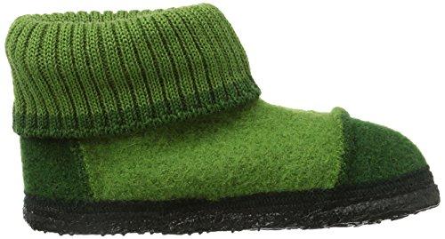 Nanga 0001 - Zapatillas de casa de fieltro unisex Verde (Grün 90)