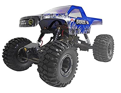 Redcat Racing Everest-10 Electric Rock Crawler with Waterproof Electronics, 2.4Ghz Radio Control (1/10 Scale)