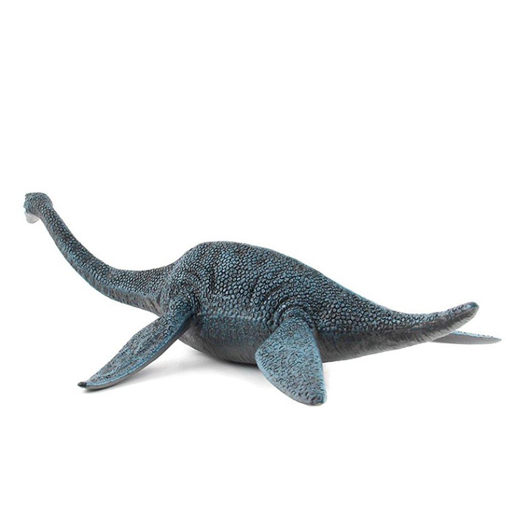 TOYMYTOY 12 Large Plesiosaur Dinosaur Toys Realistic Action Figures for Boys