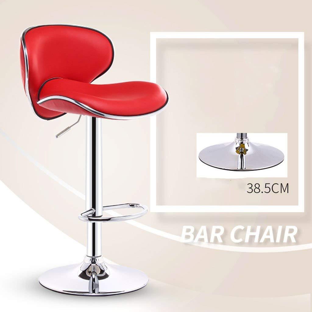 5 JZX Seat, Bar Chair, Liftable and redatable Reception Bar Stool, European Sponge Cushion Bar Stool, Cash Register Chair