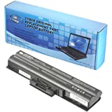 SIB-CORP Battery for Sony Vaio PCG-3H1L PCG-5P4L PCG-81115L VGN-FW340J/H VGN-FW355J/H VGN-FW510F VGN-FW590F3B VGN-NS140E/W VGN-NS240E/S VGN-NW270F/P VGN-NW270F/W VGN-SR94GS VPCCW17FX/B VPCF115FM VPCS115FG