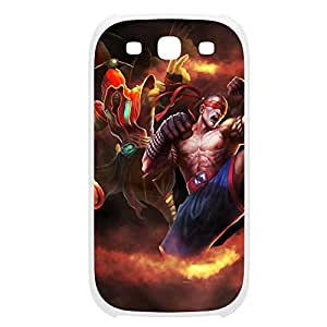 LeeSin-005 League of Legends LoL case cover Ipod Touch 4 Plastic White