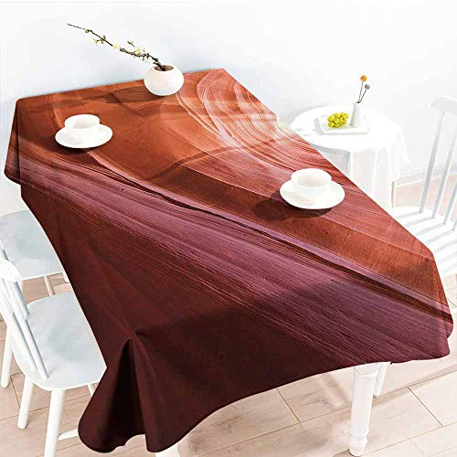 Homrkey Wrinkle Resistant Tablecloth USA Decor Nature for sale  Delivered anywhere in Canada