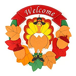 Fall Thanksgiving Fall Garland Fall Wreath Turkey Thanksgiving Harvest Fall Decorations 103