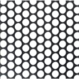 Parts Express Flat Metal Grill Pair 6mm Round Holes - 22'' x 30''