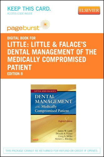 Little and Falace's Dental Management of the Medically Compromised Patient - Elsevier eBook on VitalSource (Retail Acces