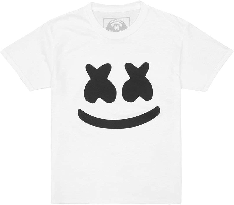 Marshmello Authentic Merchandise Smile T-Shirt Youth - Youth Sizing