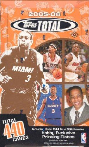 2005 06 Topps Total Basketball Unopened Hobby Box