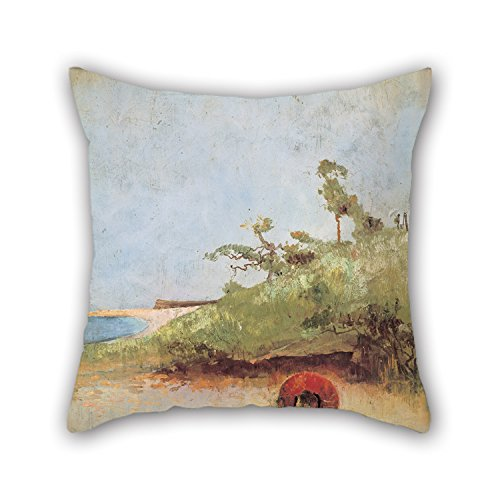 Slimmingpiggy Oil Painting Charles Conder - All On A Summer's Day Pillow Shams 18 X 18 Inches / 45 By 45 Cm For Father,dining Room,boys,kids Room,monther,shop With Double Sides