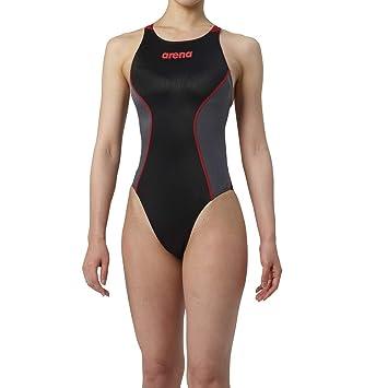0047b2e7036 arena(アリーナ) トレーニング 競泳用 水着 ジュニア リミック クロスバック ARN7021WNJ ブラック × C