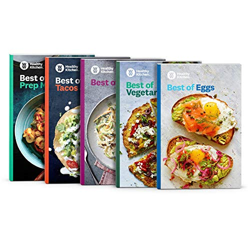 WW Best of Bundle - 5 Book Set - Easy Prep, Eggs, Tacos, Pasta, Vegetarian - Best FreeStyle Recipes (Best Healthy Pasta Recipes)