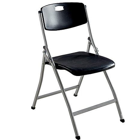 Amazon.com: Plegar sillas plegable cojín de esponja respaldo ...