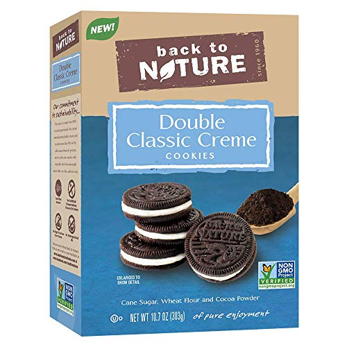 Back to Nature Non-GMO Double Classic Crème Cookies, 10.7 Ounce
