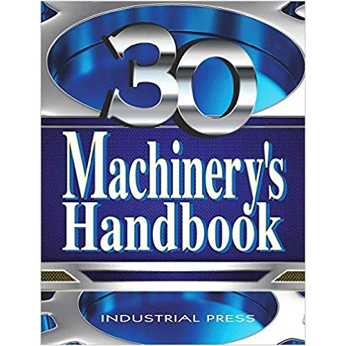 - Grizzly Industrial T27894 - Machinery's Handbook #30, Large Print Edition