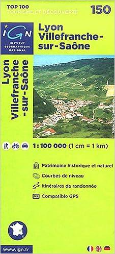 Livres anglais gratuits, téléchargement audio TOP100150 LYON/VILLEFRANCHE-SUR-SAONE  1/100.000 PDF 2758523566