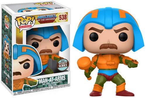 - Masters of The Universe Man at Arms POP! Vinyl Figure Standard