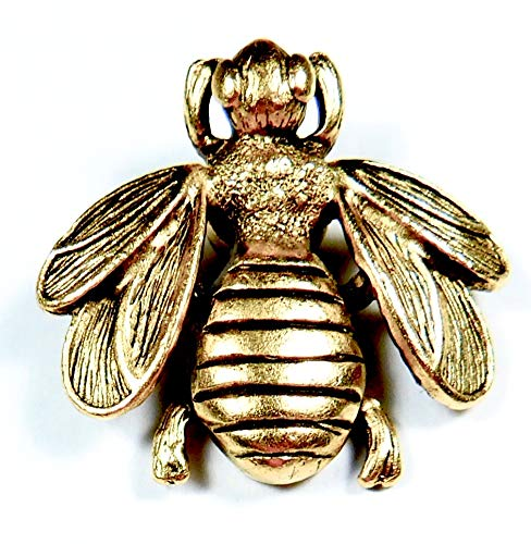 - Norma Jean Designs Item Large Decorative BEE Magnets Set of 3PC Antique Gold