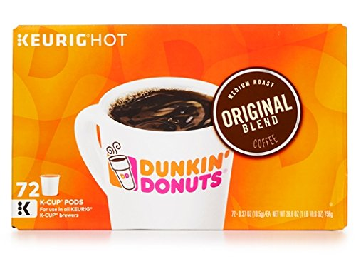 Dunkin Donuts Keurig Single-Serve K-Cup Pods - Medium Roast Single Serve 72 Count (72 - Houston Premium Outlet
