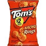 toms corn chips - Tom's corn nacho rings 4oz
