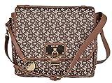 DKNY Donna Karan Chino Logo Heritage Lock Crossbody Top Handle Handbag